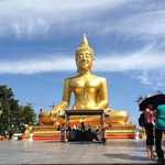 Храм Wat Khao Phra Bat