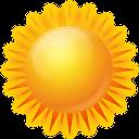 Количество солнечных дней