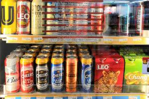 Пиво в 7-Eleven