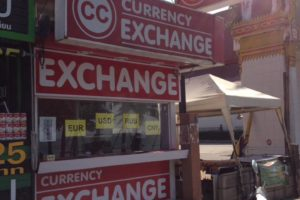 Обменник CC Currency Exchange в Паттайе