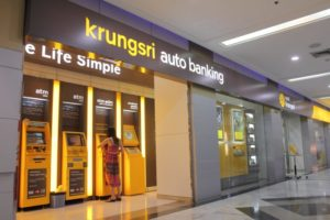 Krungsri Bank в Паттайе