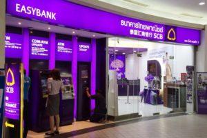 Siam Commercial Bank в Паттайе