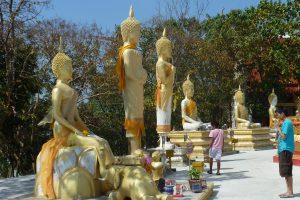 Будды, олицетворяющие дни недели