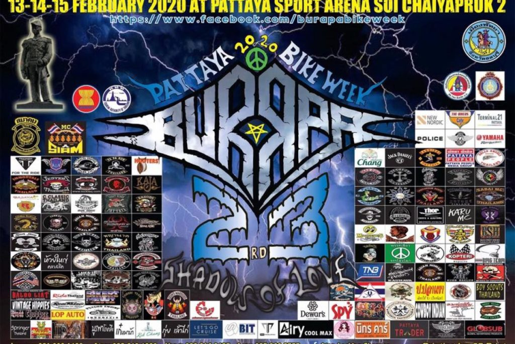 Burapa Pattaya Bike Week 2020