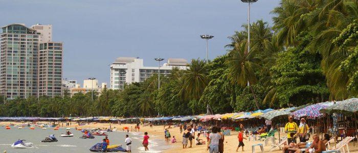 Море и пляжи в Паттайе в декабре