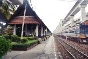 ЖД станция аэропорта Дон Муанг
