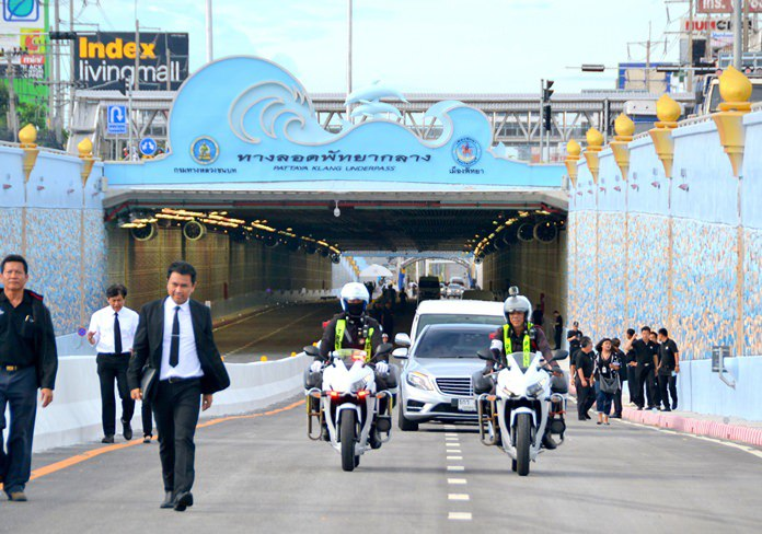 В Паттайе открыт дорожный туннель