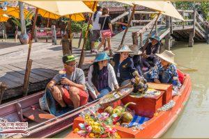 Плавучий рынок в Паттайе