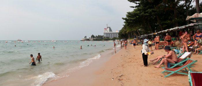 Море и пляжи в Паттайе в январе