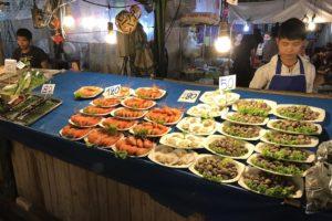 Ночной рынок на Джомтьене