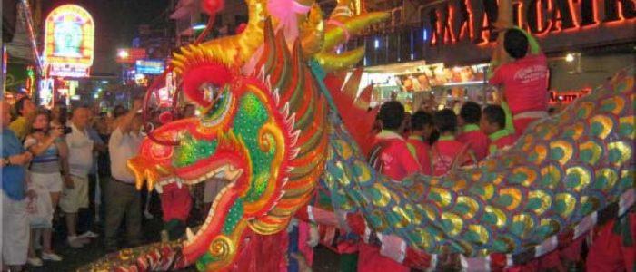 Китайский Новый Год на Walking Street