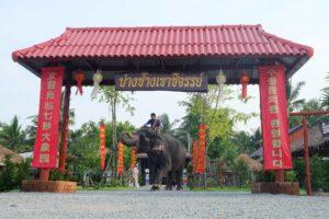 Слоновья деревня Кхао Чи Чан