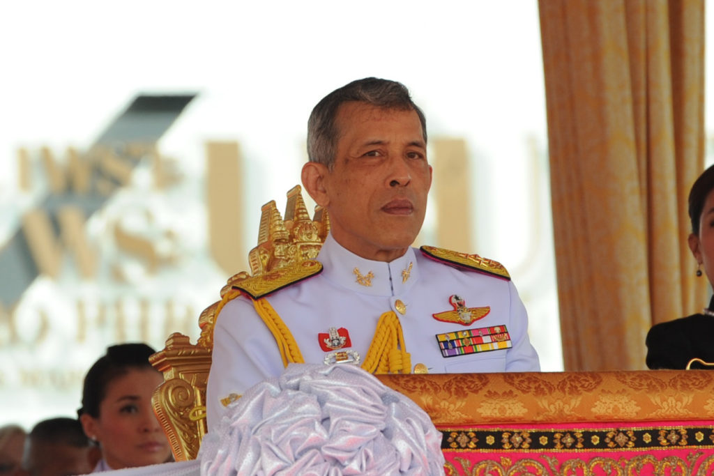 Празднование коронации Короля Таиланда в Паттайе