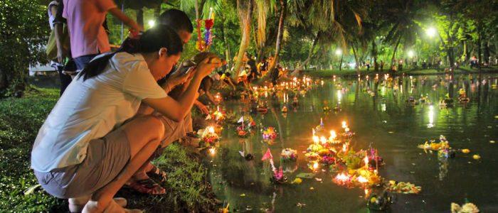 Празднование Лой Кратонг
