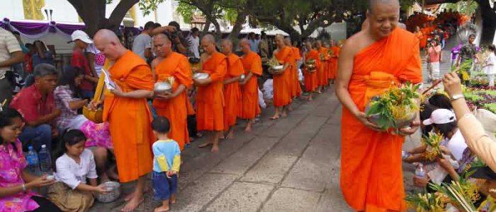Буддийский праздник Magha Puja