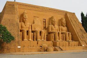 Храмы в Абу-Симбел