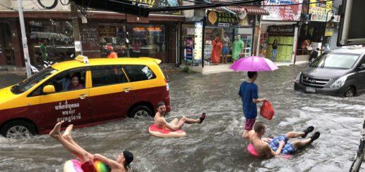 Наводнение в Паттайе в сентябре 2019