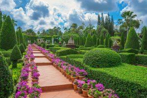 Итальянский сад в Нонг Нуч