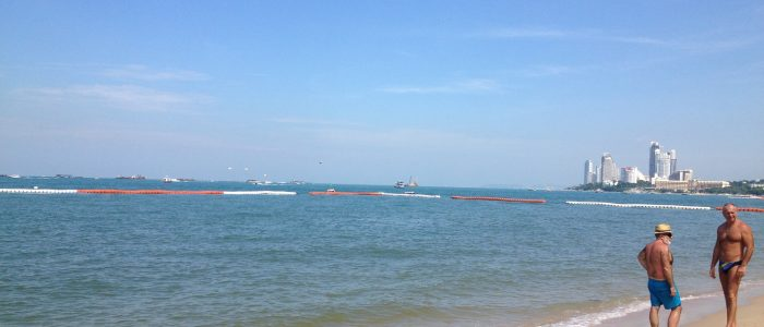 Море и пляжи в Паттайе в ноябре