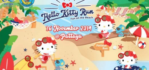 Hello Kitty Run Pattaya 2019