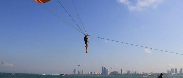 Полет с парашютом в Паттайе