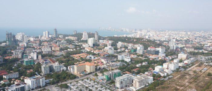 Вид с башни Pattaya Park Tower