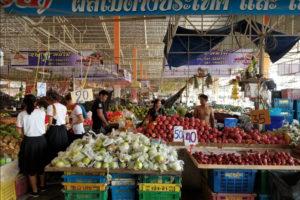 Продуктовый рынок Ратанакорн