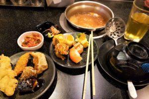 Японский буфет Sabushi Oishi
