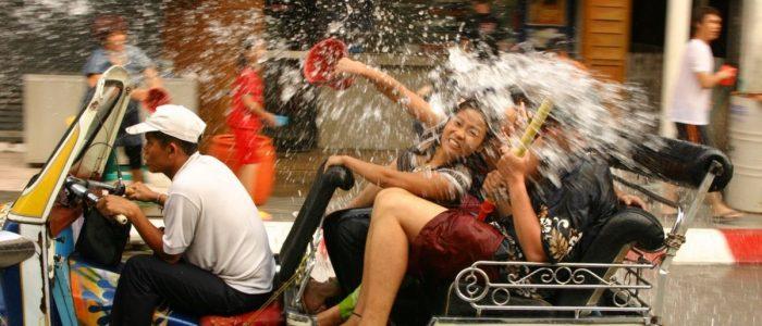 Тайский Новый Год в Паттайе