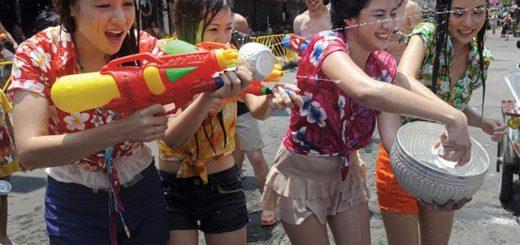 Сонгкран - Тайский Новый Год в Паттайе
