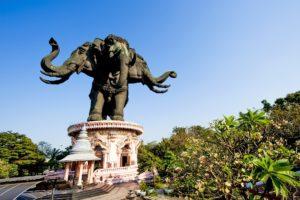 Храм-музей Эраван в Бангкоке