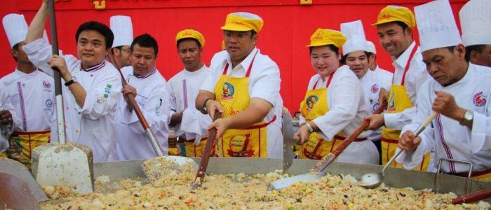 Празднование вегетарианского фестиваля