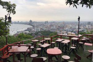 Кафе на смотровой площадке Паттайи