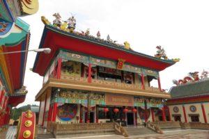 Китайский храмово-музейный комплекс Вихарнра Сиен