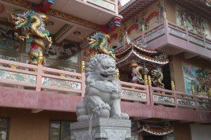 Китайский храм Красного дракона