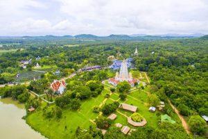 Храм Ват Ян с высоты